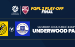 Bayside United face Surfers Paradise Apollo in FQPL 2 Play-Off Final